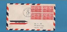 US 1937 #786 Hermitage FDC With Block Four