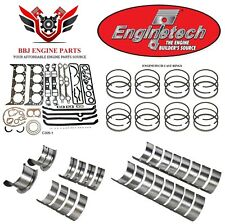 Chevy Chevrolet 305 5.0 1976 - 1985 Enginetech ReRing Rebuild Kit