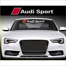 "Aufkleber Set "" Audi Sport"" Aufkleber 100 cm , + Bonus Testa Decal Pickerl"
