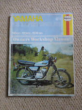 YAMAHA RS100 125 SINGLES HAYNES MANUAL 96cc 123cc 1974 ONWARDS