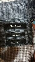 matinique long sleeve mens classic fit collared shirts size XL di
