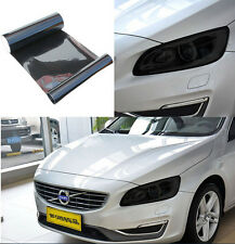 Luxury Car Fog Light Headlight Taillight Smoke Black Vinyl Film Sticker 30x100cm