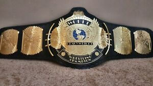 WWF Classic Gold Winged Eagle Championship Belt Adult Size.2mm plates