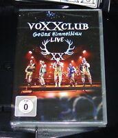 VOXXCLUB GEILES HIMMELBLAU LIVE DVD SCHNELLER VERSAND NEU & OVP