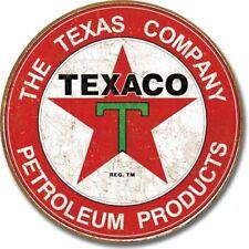 Texaco Company Blechschild Gasoline Auto Werkstatt Tankstelle Reklame 30 x 30 cm