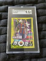 Ansu Fati Topps Match Attax 2020/21 Rising Star SGC 9.5