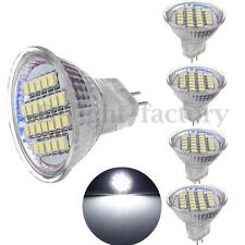 5X MR11 GU4 White 24 3528 SMD LED Spot Light Spotlight Lamp Bulb 12V