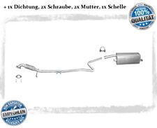 Auspuffanlage Ford Fiesta V 1.25 1.3 1.4 ab 12/2005 Auspuff Flexrohr Dichtung