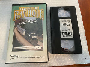 VHS Through The Rathole Cab Ride NS Norfolk Southern from Pentrex