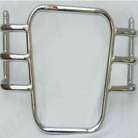 Solid Airfly Style Front Chrome Crash Bar Leg Guard For Royal Enfield