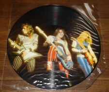 Iron Maiden entrevista con doncella Reino Unido Lp Foto Disco Con Funda De Pvc Original