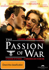 The Passion of War * NEW DVD * Jonathan Rhys Meyers (Region 4 Australia)