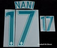 Portugal Nani 17 Euro 2016 Football Shirt Name/number Set Away Sporting ID