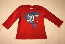 Diesel Baby Girl gold long sleeve top jumper size 6 months