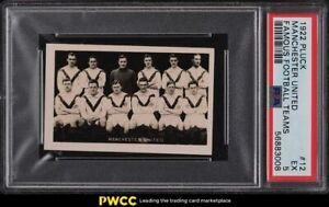 1922 Pluck Famous Football Teams Manchester United #12 PSA 5 EX