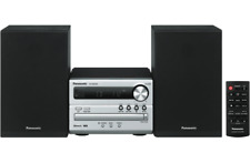 Panasonic SC-PM250GN-S Micro Hi-Fi Sound System/20W/Bluetooth/USB/CD/AM/FM Radio