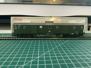Fleischmann 5684 K DB Baggage Coach, boxed in very good condition.