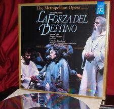 New! Leontyne PRICE in 'LA FORZA DEL DESTINO' -Stereo Laser Disc Box Set, SEALED