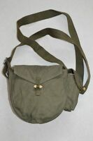 Surplus Chinese 1956 Military Drum Haversack Magazine Ammo Pouch Messenger Bag