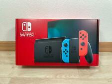 Nintendo Switch Konsole V2 neues Modell Neon Rot Blau Neu & OVP vom Händler