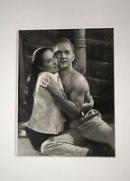 Angus McBean B&W Promo Photo John Kerr & France Nuyen South Pacific 1958 40x50cm