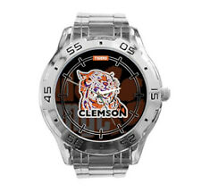 Clemson Tigers NCAA Stainless Steel Analogue Men's Watch Gift