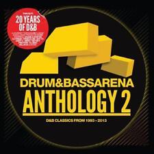 DRUM & BASS ARENA: ANTHOLOGY 2 – V/A 3CDs (NEW/SEALED)