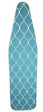 Ironing Board Cover & Pad Standard Width 15x55 Premium, Brand Homz Color Teal