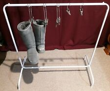 Free standing Boot Rack Storage System with 5 Boot Hangers