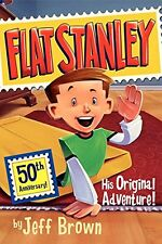 FLAT STANLEY His Original Adventure (pb) by Jeff Brown NEW