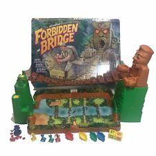 Forbidden Bridge Motorized Adventure Game Milton Bradley Vintage Almost Complete