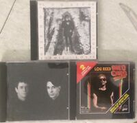 Magic and Loss, Songs For Drella With John Cale, Wild Child Lou Reed CD Lot (3)
