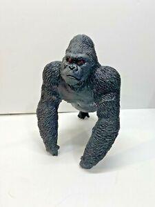 "2017 Black 10"" 2352 Gorilla/Ape Soft Squeeze Rubber Toy Figure"