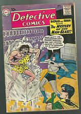 Detective Comics #285 Vg Man-Beast Batman Robin