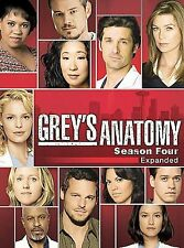 Grey's Anatomy - The Complete Fourth Season (DVD, 5-Disc Set, Region 1, 2008)