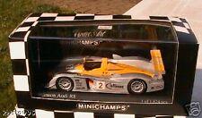 Audi R8 Winner Sebring 2002 Capello Herbert 1 43 Model Minichamps