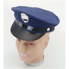 New York Police Costume Hat - Fancy Dress Adult Cop Accessory