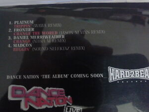 Dance Nation Album Sampler part 2 RARE CD promo 2009 daniel merryweather remix