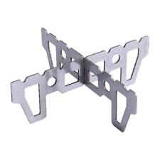 Alcohol Stove Stand Rack Spirit Burner Base Bracket Stainless Steel Rack w