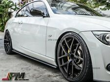 For 07-13 BMW E92 E93 328i 335i w/ M-Sport DP style Carbon Fiber Side Skirt Lip