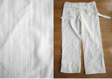 Linen Loose Fit Regular Size Trousers Cargos for Women