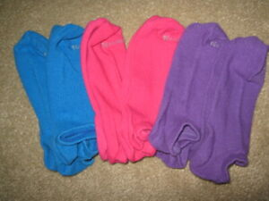 NO NONSENSE COLOR No-Show Socks, Footies, Ankle Socks Size 4-10