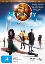 Serenity (DVD, 2006) New Region 4 Unsealed
