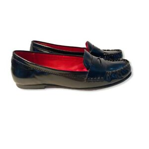 COLE HAAN loafers women's Size 8 B  Patent Leather Classic look Flats Penny