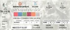 More details for rare football ticket manchester united v lazio european super cup 1999 in monaco