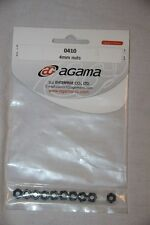 Agama RC - Ecrou M4 - A8 Evo - 4 mm nuts - 0410