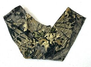 Mens Red Head Mossy Oak Double Knee Hunting Pants Military Issued Camo Size M