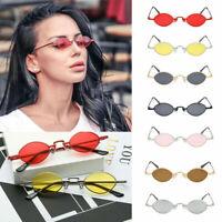 Vintage Women Cat Eye Sunglasses Small Oval Frame Eyewear Glasses Shades Gift