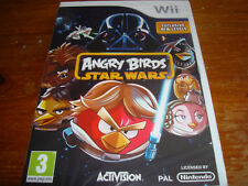 ANGRY BIRDS STAR WARS ** NEW & SEALED ** Nintendo Wii Game