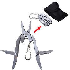 In acciaio inox Mini pieghevole pinze cacciavite grattugia carta filo Taglierina